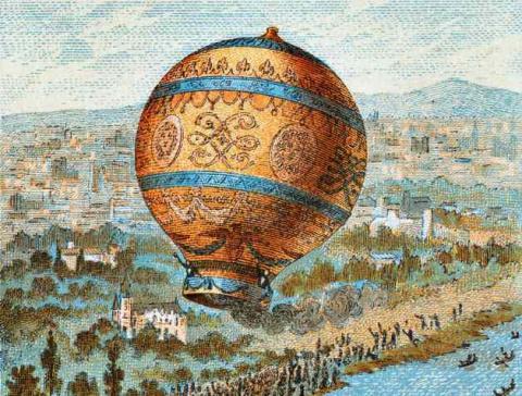 Неопознанные шары в небе Российской империи