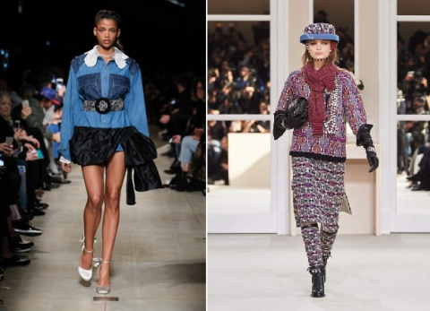 Модные тенденции осень-зима 2015-2016 с парижского подиума