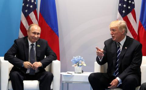 Трамп и его вымышленное отношение к России