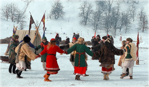 Календарь народных праздников на декабь