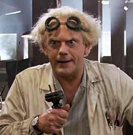 Док Браун (личноефото)