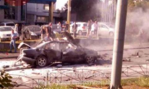 Преступность на Украине: в Киеве подорвали автомобиль