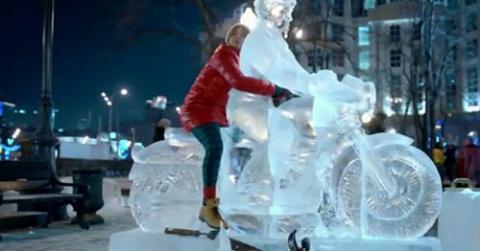 Яндекс сделал рекламу против зимы