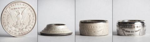 Кольца из монет или путь юве…