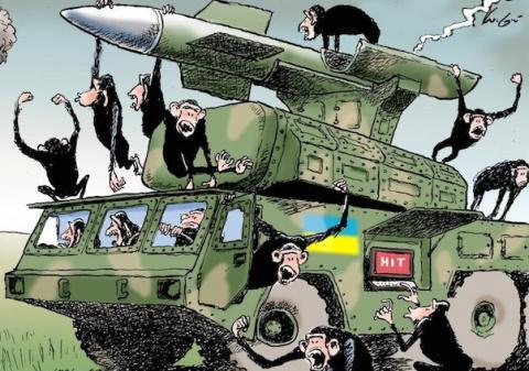 Донецк – обезьяна с гранатой…