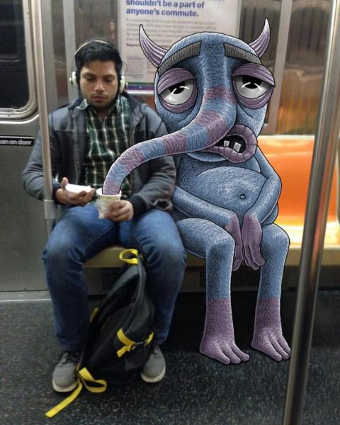 Забавные монстры из метро