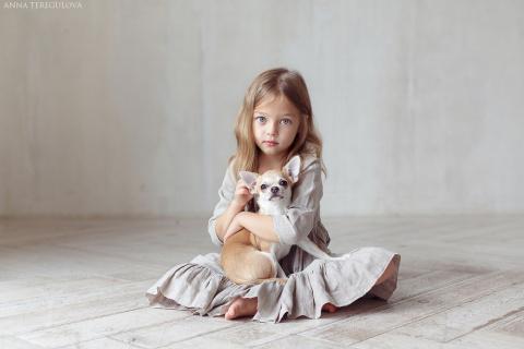 Как живет самая красивая девочка России?