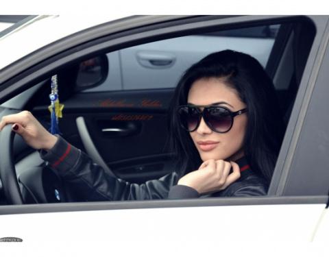 Виды женщин за рулем