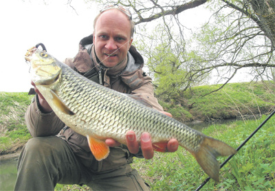 Теория спонтанной рыбалки - голавль