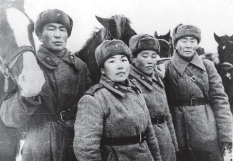 Тува - союзник СССР.  Они не…