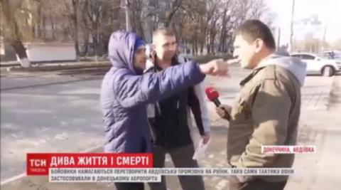 Шок для укр. ТВ: жители Авдеевки рассказали ТСН, что ненавидят Украину!