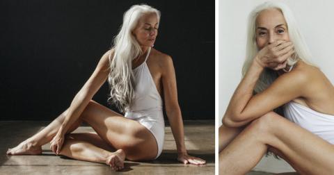 61-летняя модель делится сек…