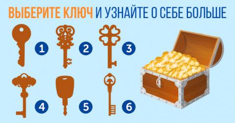 Выберите ключ, который, по-в…