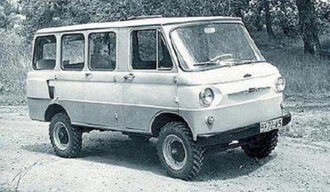 ЗАЗ «Целина» — один из первых минивэнов в мире