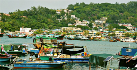 Остров Чианг Чау, остров рыб…
