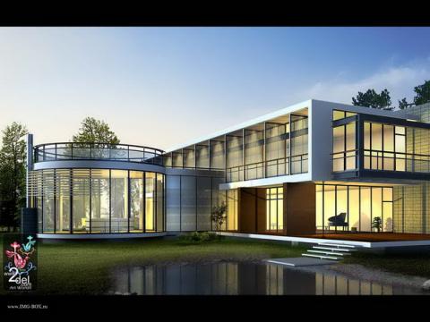 Архитектурные дома фото