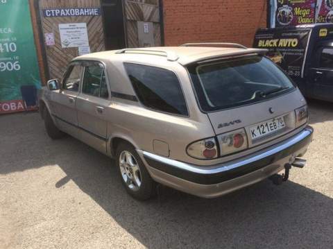 Интересный ГАЗ-31105 универс…