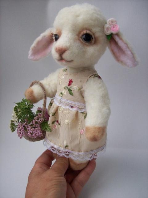 Выкройка овечки Маняши.
