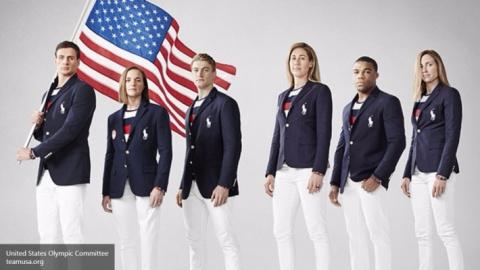 Россияне посмеялись над олимпийской формой сборной США с триколором РФ