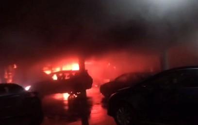 """В Сети появилось видео пожара в ТЦ """"РИО"""" на юго-западе столицы"""