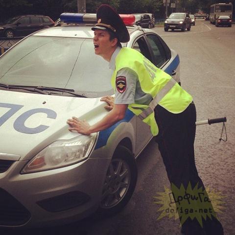 Пешеход защитил водителя от «развода» ГИБДД