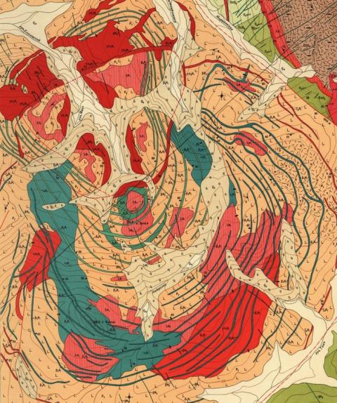 Геологическая карта в каждый дом