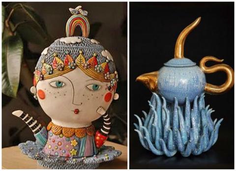 Интересные и необычные чайники