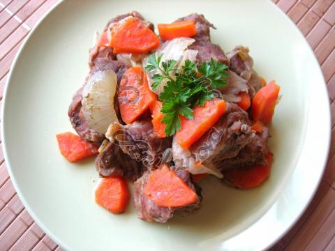 Тушеное Мясо с Овощами. Реце…