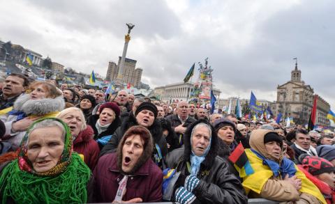 Пенсионеры в Украине вымираю…