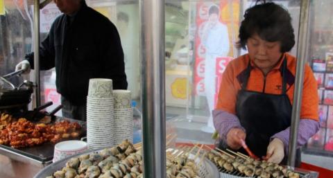 Уличная еда в Корее: жучки и…