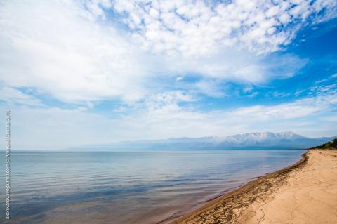 Пустые пляжи Баргузинского залива