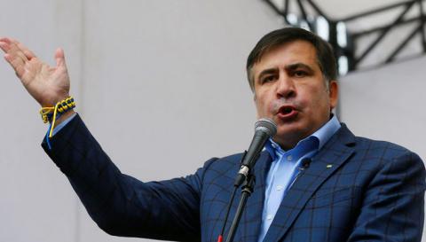 «Я спасаю Украину»: Саакашви…