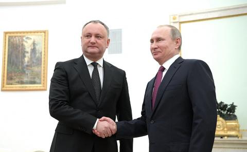 Переговоры с Президентом Молдовы Игорем Додоном - Совместная пресс-конференция