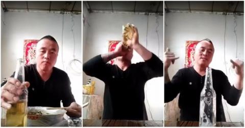 Азиатский способ приготовления коктейля «Ёрш»
