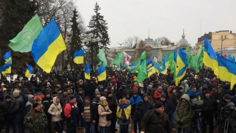 Тысячи радикалов у киевской …