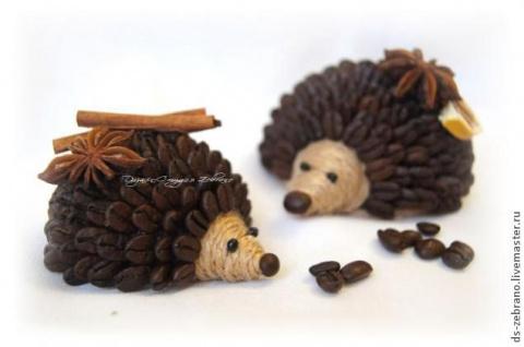 Ароматные кофейные ёжики