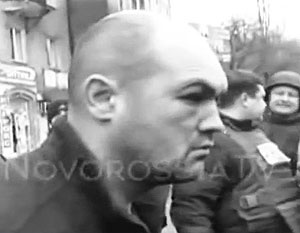 Украинского комбата привезли…