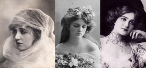 Красавицы начала XX века, по…