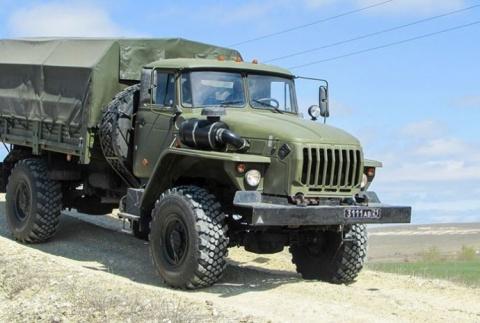 Более 100 единиц новой автомобильной техники поступило в войска ВВО с начала года