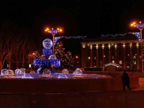 Донецк – предновогодние пожелания