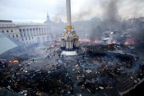 Участница Майдана Ирма Крат …