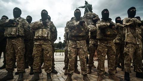 """Лидеры """"Азова"""", обвиняемые в…"""