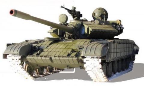Новый танк Т55-64 - спариван…