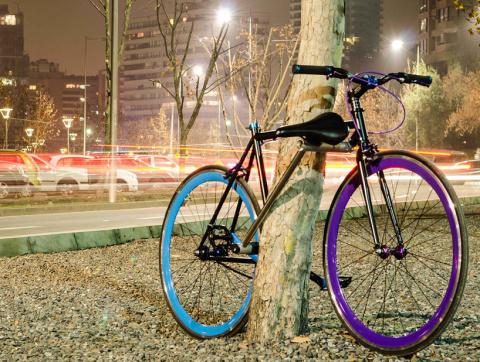 Велосипедные воры отдыхают