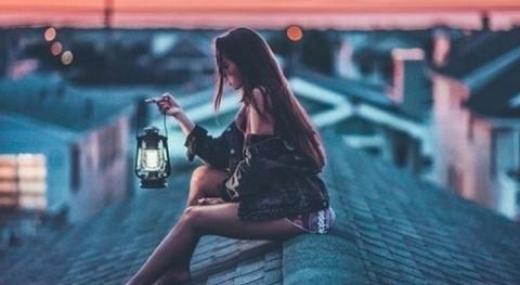 Одинокая, но счастливая