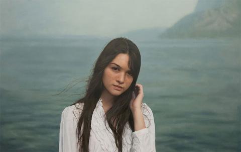 Фотореалистичные портреты женщин кисти Игаля Озери
