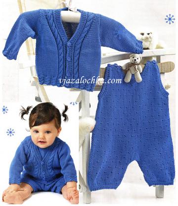 Вязание для малышей. Модель № 1