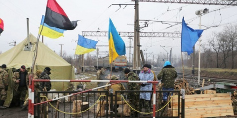 На Украине начинают  подсчитывать убытки от блокады Донбасса