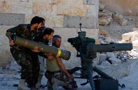 Обама снял запрет на поставки оружия союзникам США в Сирии