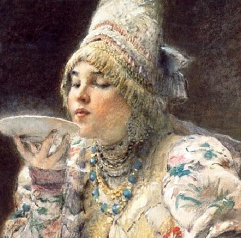 """Погоня за красотой русских боярышень — нужно быть """"нежной и пышной"""",  «худой» быть вообще нездорово!"""